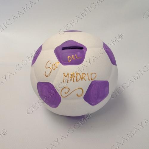 Hucha balón Real Madrid